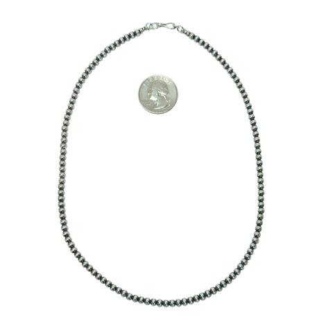 Navajo Pearl Necklace 4mm x 18inch