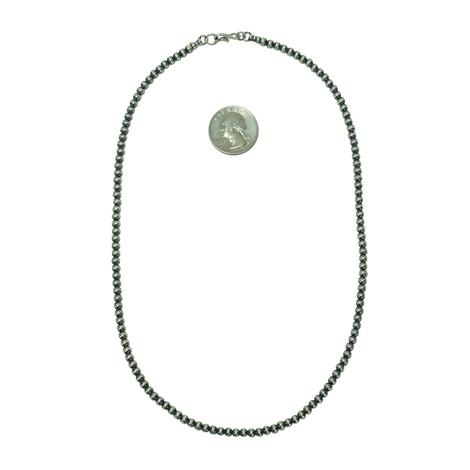 Navajo Pearl Necklace 4mm x 20inch