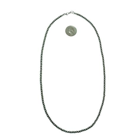 Navajo Pearl Necklace 4mm x 24inch