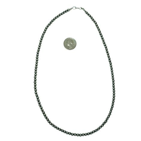 Navajo Pearl Necklace 5mm x 24inches