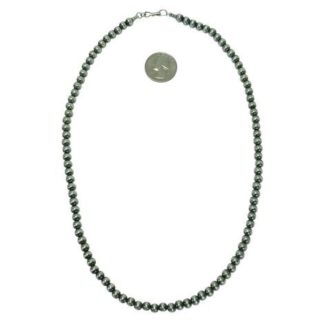 Navajo Pearl Necklace 6mm x 22inches