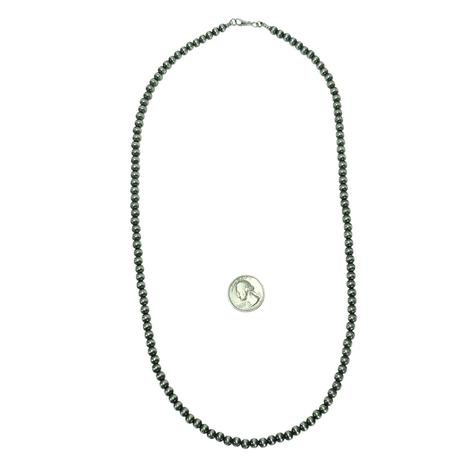 Navajo Pearl Necklace 6mm x 28inches