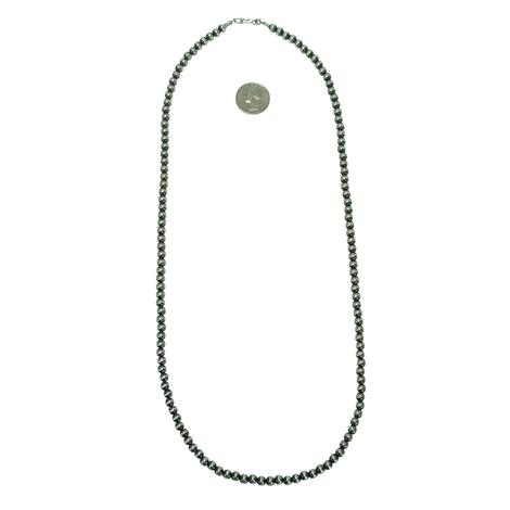 Navajo Pearl Necklace 6mm x 30inches