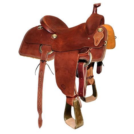 Team Roping Saddles