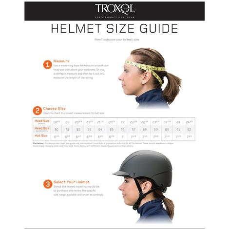 Spirit Riding Helmet Troxel