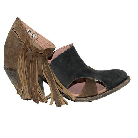 Miss Macie Mercy Me Black and Brown Women's Shoes