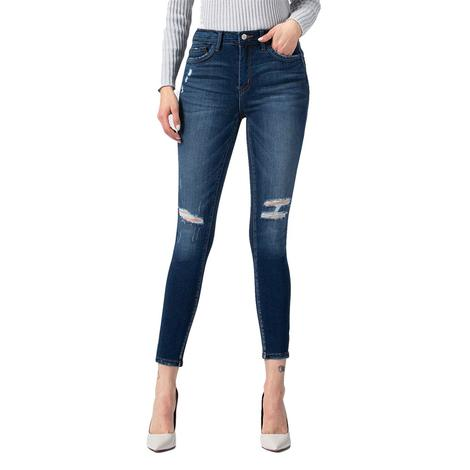 Vervet High Rise Skinny with Pocket Band Women's Jeans