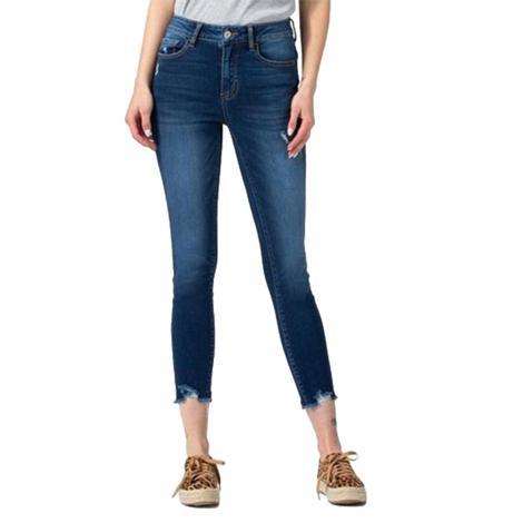 Vervet Parallel Hi Rise Skinny Jeans