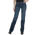 Wrangler Womens Ultimate Riding Q-Baby Cool Vantage Bootcut Jeans