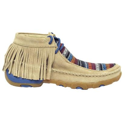 Twisted X Serape Fringe Women's Driving Moc
