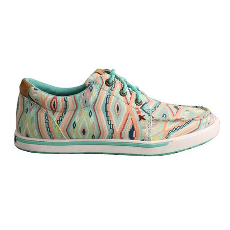 Twisted X Aztec Hooey Loper Lace Up Women's Shoe