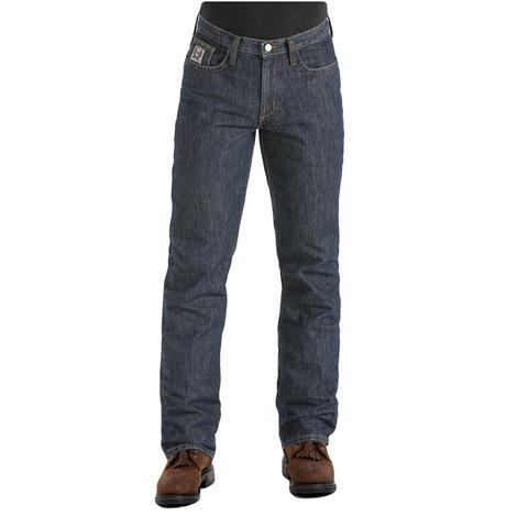Cinch White Label WRX Fire Retardant Straight Leg Mid Rise Men's Jeans
