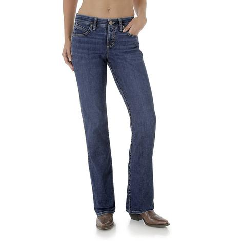 Wrangler Womens Q-Baby Rise Ultimate Riding Jeans