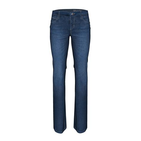 Wrangler Briley Q-Baby Boot Cut Midrise Women's Jeans
