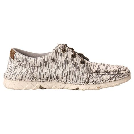 Twisted X Zero-x Women's Shoes in White and Gray