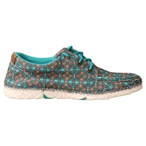 Twisted X Zero-X Women's Shoes in Turquoise and Multicolored