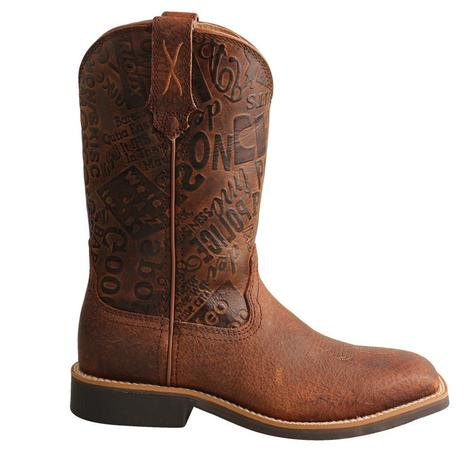 Twisted X Top Hand Boy's Boots