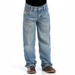 Cinch Boy's Tanner Regular Fit Jeans - Medium Stonewash